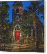 Lowcountry Church Wood Print