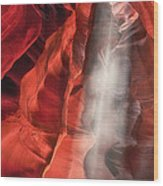 Upper Antelope Canyon Litebeam Wood Print