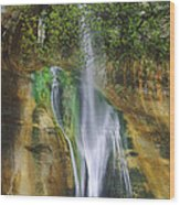 Lower Calf Creek Falls Escalante Grand Staircase National Monument Utah Wood Print