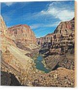 Lower Grand Canyon Wood Print