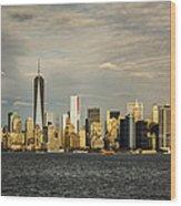Lower Manhattan 1 Wood Print