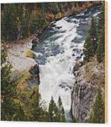 Lower Mesa Wood Print