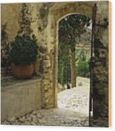 Lower Preveli Monastery Crete 3 Wood Print