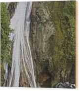 Lower Twin Falls Wood Print