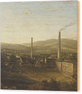 Lowerhouse Print Works, Burnley Wood Print