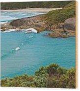 Lowlands Beach 2am-112540 Wood Print
