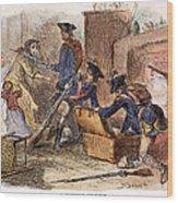Loyalist Home, 18th C Wood Print