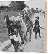 Loyalists To Canada Wood Print