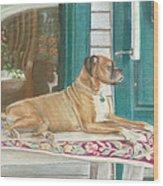 Loyalty Wood Print by Robin Grace