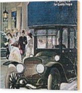 Lozier Cars - Vintage Advertisement Wood Print