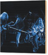 Ls Spo #26 Enhanced In Blue Wood Print