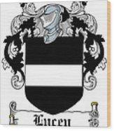 Lucey Coat Of Arms Irish Wood Print