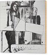 Lucia En Cor Wood Print