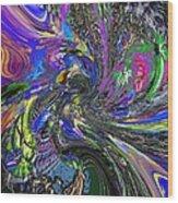 Lucid Dream - The Garden Wood Print