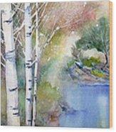Lucid Wood Print
