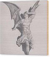 Lucifer Wood Print