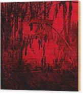 Lucifer's Gate Wood Print
