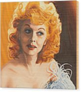 Lucille Desiree Wood Print