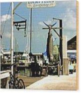 Lucky Fleet Key West  Wood Print