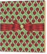 Lucky Ladybugs Wood Print