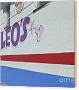 Lucky Leo's Wood Print