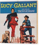 Lucy Gallant, Us Poster Art, From Left Wood Print