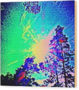Lucy In The Sky With Diamonds Shining Right Back At You Wood Print