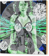 Lucy In The Sky With Diamonds Wood Print