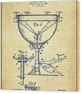 Ludwig Kettle Drum Drum Patent Drawing From 1941 - Vintage Wood Print