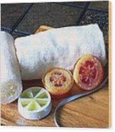 Luffa Soap Wood Print