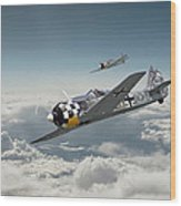 Luftwaffe - Fw190 Wood Print