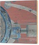 Lug Nut Wheel Left  Wood Print