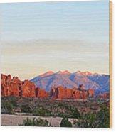 A Sandstone Landscape Wood Print