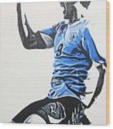 Luis Suarez - Uraguay Wood Print