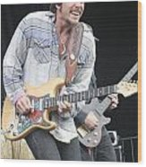 Lukas Nelson Wood Print