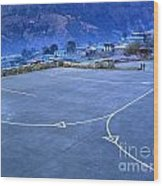Lukla Airport Wood Print