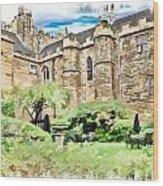 Lumley Castle Wood Print