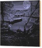 Luna See Wood Print