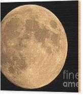 Lunar Mood Wood Print