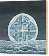 Lunaris Rising Wood Print