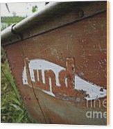 Lund Fishing Boat Wood Print