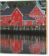 Lunenburg Wood Print