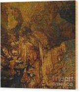 Lura Cavern Wood Print