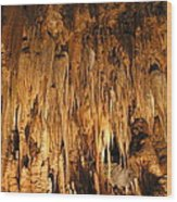 Luray Caverns - 1212136 Wood Print by DC Photographer