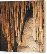 Luray Caverns - 1212145 Wood Print by DC Photographer
