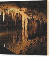 Luray Caverns - 121243 Wood Print by DC Photographer