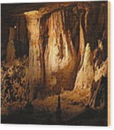 Luray Caverns - 121247 Wood Print by DC Photographer