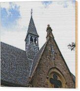 Luss Church Steeple Wood Print