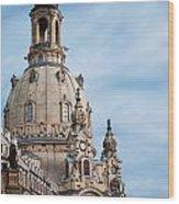 Lutheran Church In Dresden Wood Print
