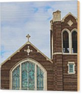 Lutheran Church Wood Print